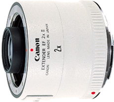 canon extender 2x  ef II